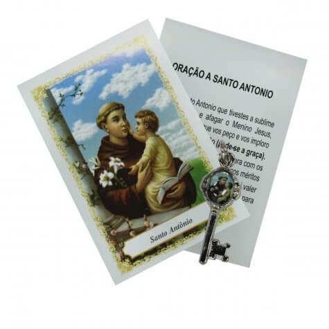 Chavinha de Santo Antônio com Oração