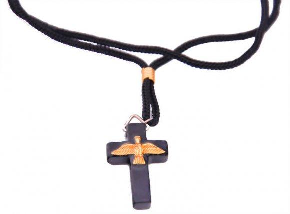 Cordão com Crucifixo do Divino Espírito Santo - 3 cm