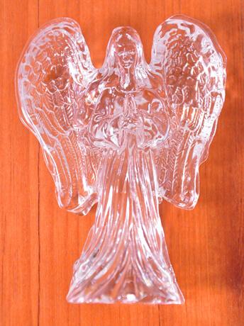 Anjo de Cristal - 10 cm