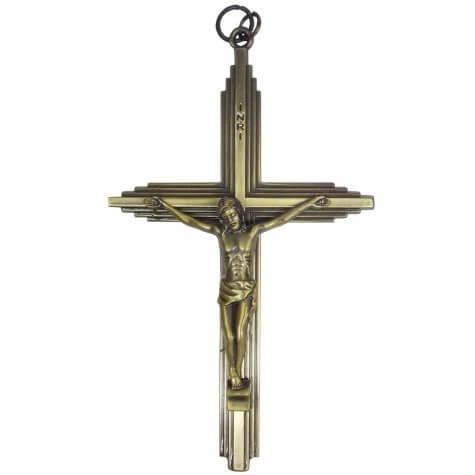 Crucifixo de Bronze - 13 cm