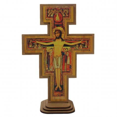 Crucifixo de Damião - 23 cm