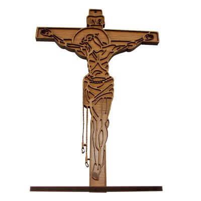 Crucifixo de Madeira - 30 cm