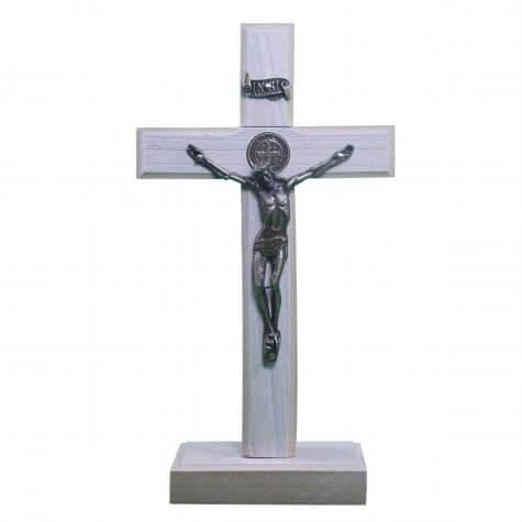 Cruz de Madeira - Medalha de São Bento - 12 x 7