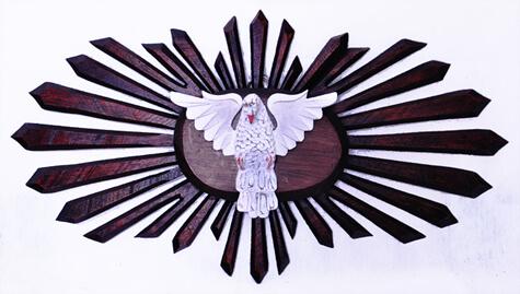 Divino Espírito Santo Raio Duplo - 100 cm