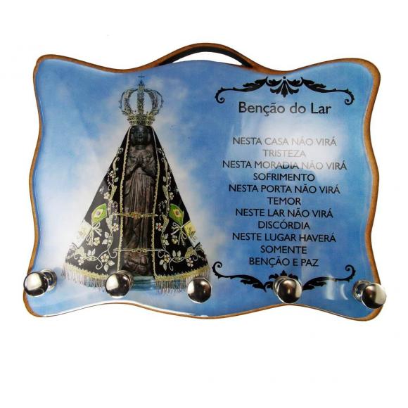 Porta Chave - Nossa Senhora Aparecida 06