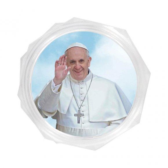 Embalagem do Papa Francisco