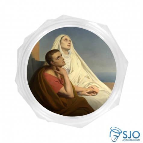 Embalagem Italiana Santa Mônica e Santo Agostinho
