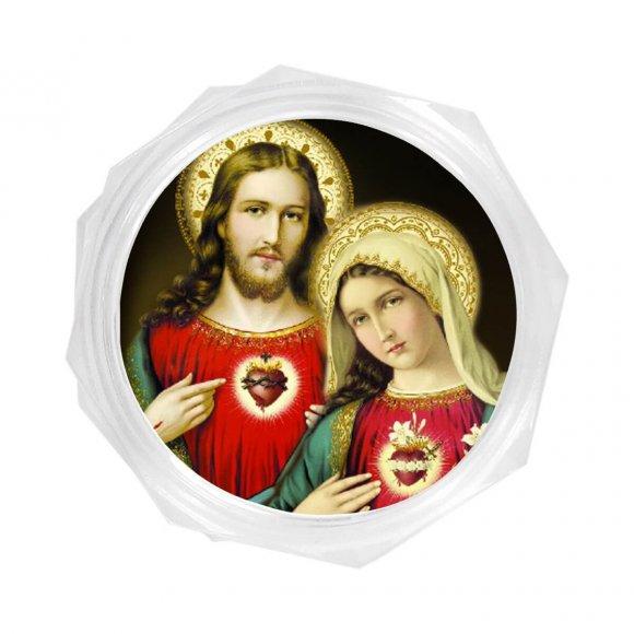 Embalagem do Sagrado Coração de Jesus e Maria