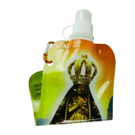 Garrafinha Plástica de Nossa Senhora Aparecida