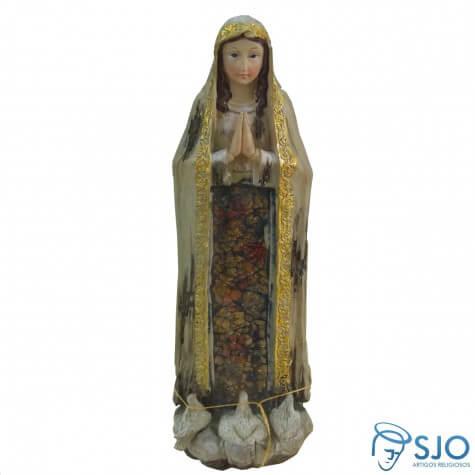 Imagem de Resina Nossa Senhora de Fátima - 30 cm