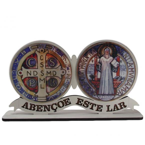 Adorno de Mesa Medalha de São Bento