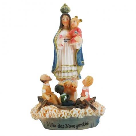 Imagem de Resina Nossa Senhora dos Navegantes - 22 cm