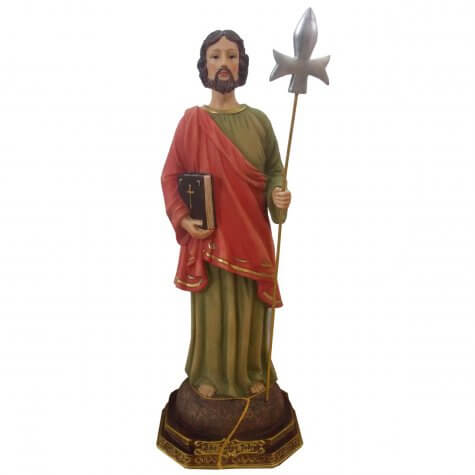 Imagem de Resina São Judas Tadeu - 9 cm