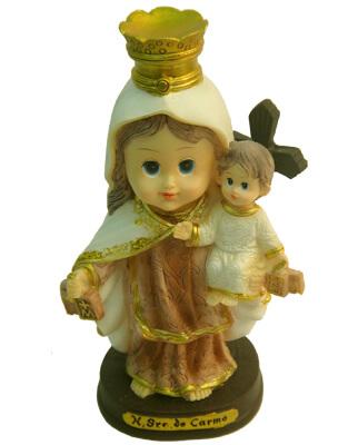 Imagem Infantil Nossa Senhora do Carmo - 10 cm