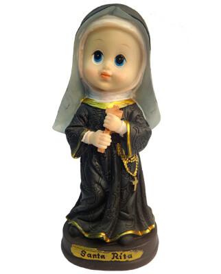 Imagem Infantil de Santa Rita - 10 cm