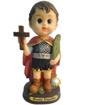 Imagem Infantil do Santo Expedito - 10 cm
