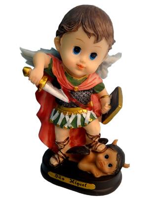 Imagem Infantil de São Miguel - 10 cm