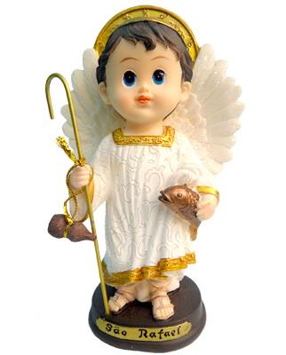 Imagem Infantil de São Rafael - 10 cm