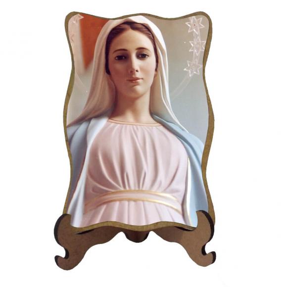 Porta-Retrato Nossa Senhora Rainha da Paz - Modelo 2