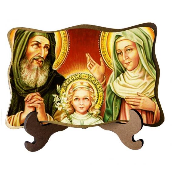 Porta Retrato São Joaquim e Santa Ana