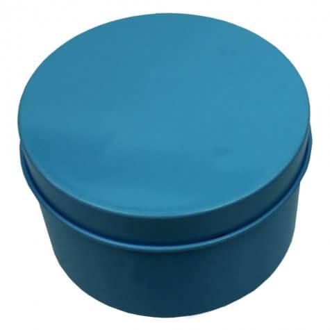 Lata Redonda 7,5 x 4  | Cor: Azul Tifanny