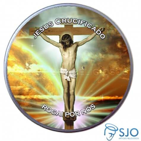 Latinha de Jesus Crucificado