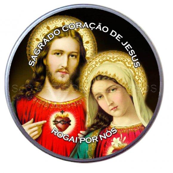 Latinha do Sagrado Coração de Jesus e Maria