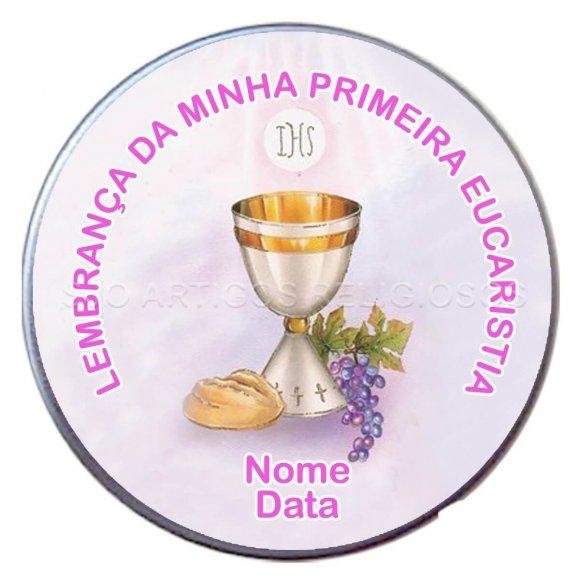 Latinha Anjo da Eucaristia - Mod. 4