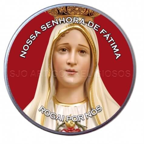 Latinha de Rosto de Fátima
