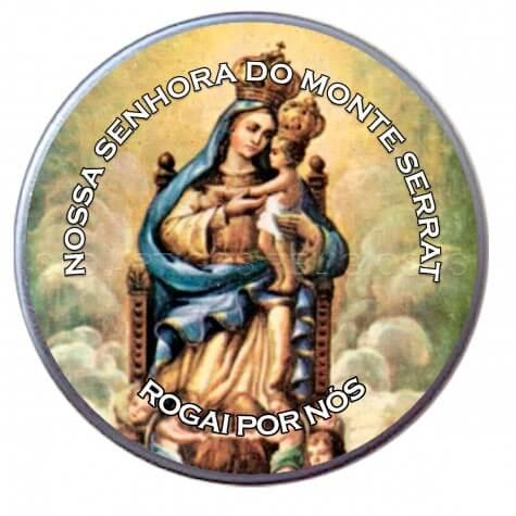 Latinha de Nossa Senhora do Monte Serrat
