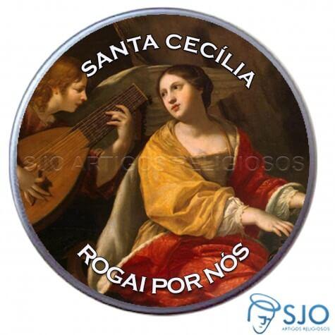 Latinha Personalizada de Santa Cecília
