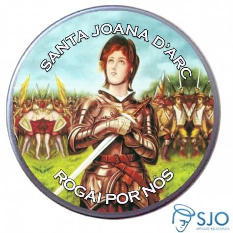Latinha de Santa Joana D'Arc