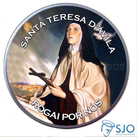 Latinha de Santa Teresa D'Ávila