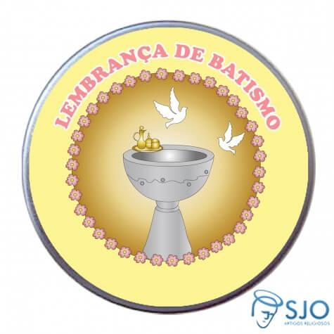Latinhas de Batismo - Mod. 09