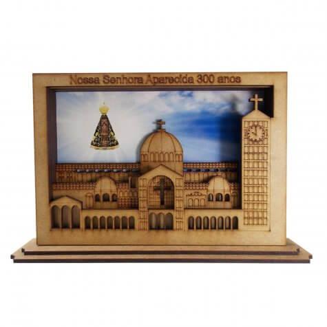 Lembrança Basílica 300 Anos de Aparecida