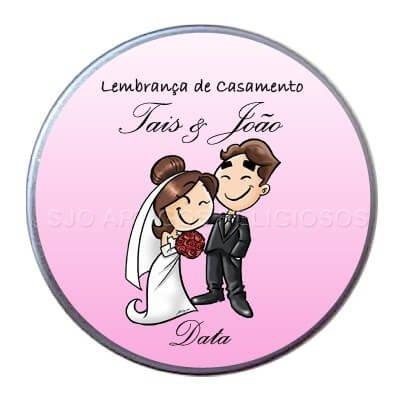 Latinha de Casamento - Mod. 3