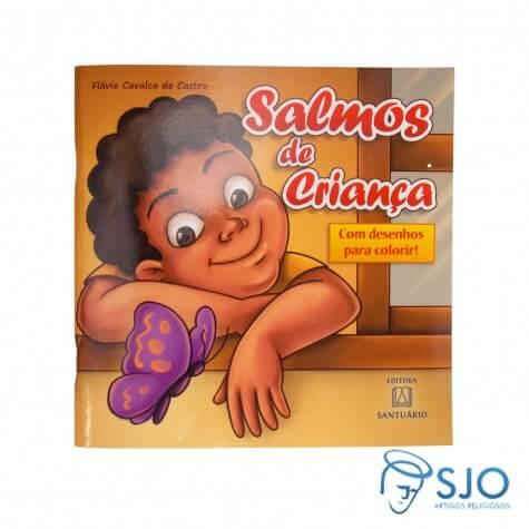 Salmos de Criança - Livro de colorir