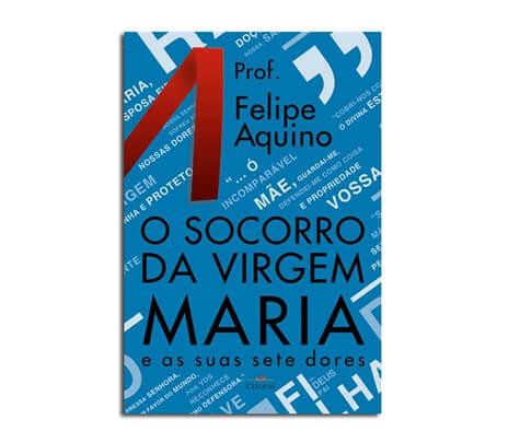 Livro - O Socorro da Virgem Maria e as Suas Sete Dores