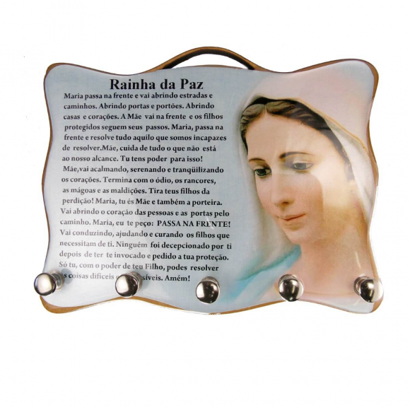 Porta Chave - Rainha da Paz