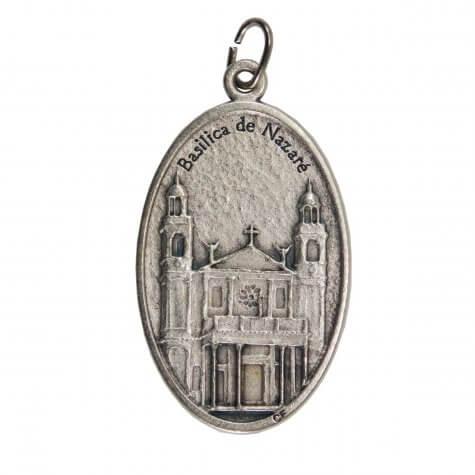 Medalha Oval Nossa Senhora de Nazaré