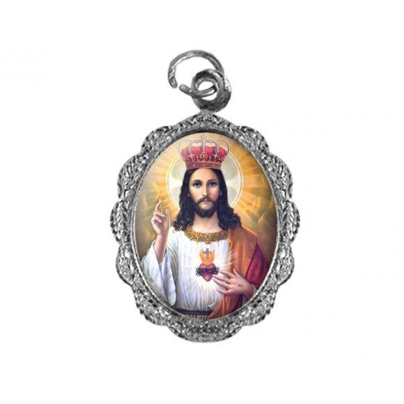Medalha de Alumínio - Cristo Rei - Mod. 2