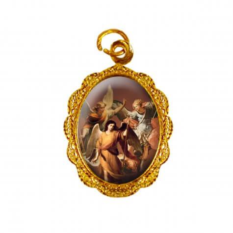 Medalha de Alumínio - Arcanjos - Mod. 02