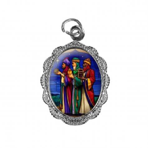 Medalha de Alumínio Três Reis Magos - Modelo 02