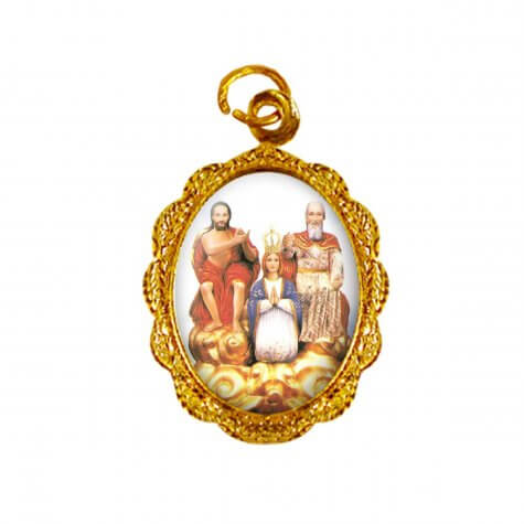 Medalha de alumínio - Divino Pai Eterno - Mod. 02