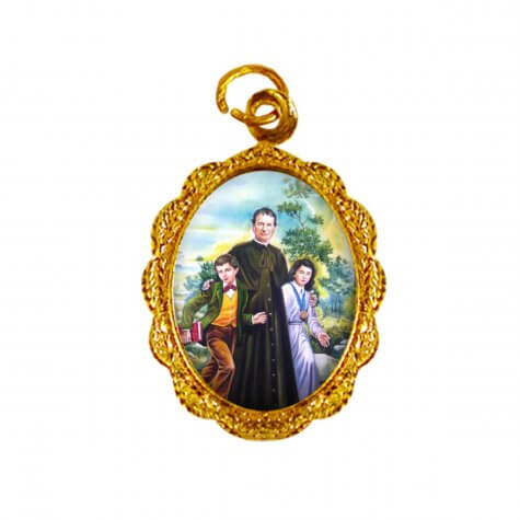 Medalha de alumínio - Dom Bosco - Mod. 1