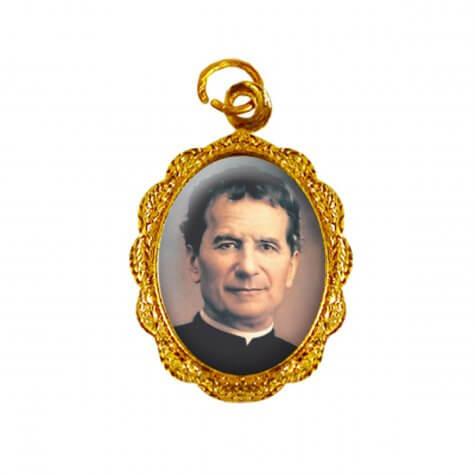 Medalha de alumínio - Dom Bosco - Mod. 2