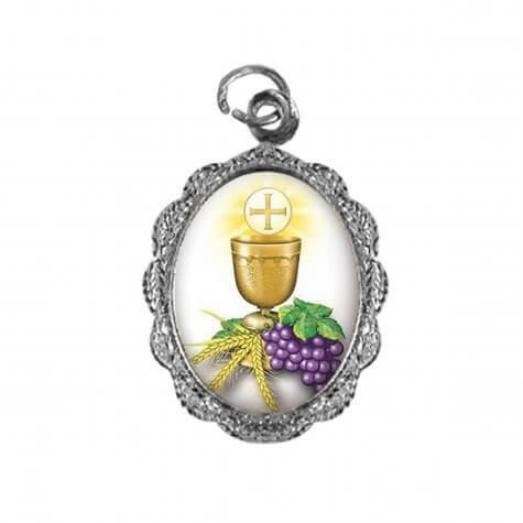 Medalha de Alumínio - Eucaristia