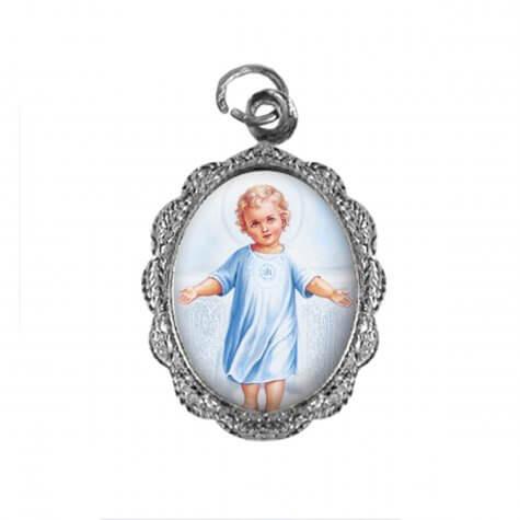 Medalha de alumínio - Menino Jesus - Mod. 1