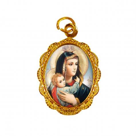 Medalha de alumínio - Nossa Senhora da Abadia - Mod. 1