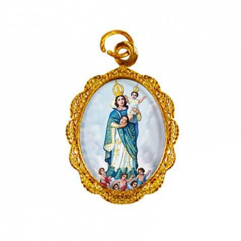 Medalha de Alumínio Nossa Senhora da Cabeça